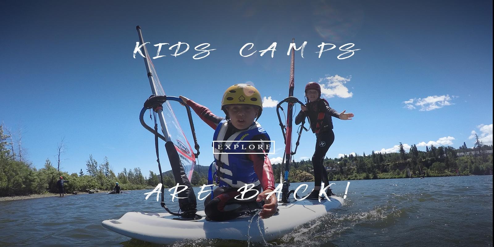 Kids Windsurfing Camps