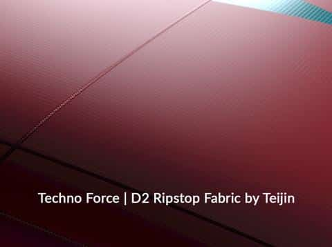 North Kiteboarding kite technology Teijin Techno Force Kite Fabric